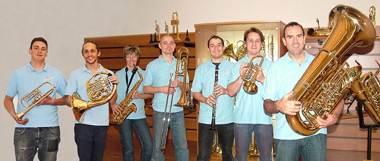 Team von Musik Pleischl bei Straubing