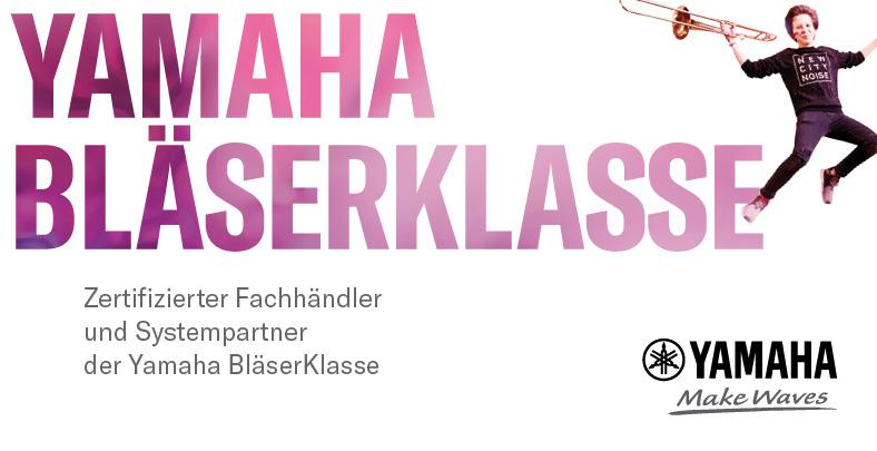 Zertifizierter Yamaha Bläserklassen-Händler